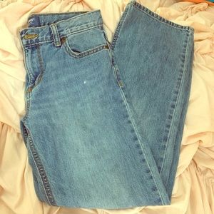 Old Navy Loose Boot Cut Boys Jeans.  Size 14